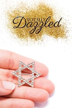 These rhinestone pieces will make your Hanukkah extra special! Slide a ribbon through the slider buckle and attach it to gifts or add some to your table setting! They can be used in a variety of ways and are only $0.98 each. Visit totallydazzled.com to view our collection of rhinestone products. We'll dazzle you!