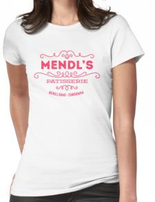 Mendl's Patisserie Womens Fitted T-Shirt