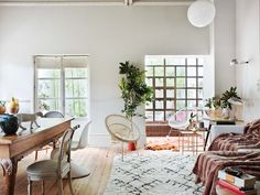 Creating Paris vibes in Spain. This apartment in a 50's building in Coruña was trans...