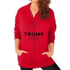 Trump 2016 Women's Zip Hoodie