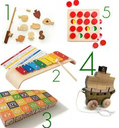 Top 5 stimulating wooden toddler toys