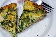 no cheese crustelss veggie quiche. use egg beaters and almond milk
