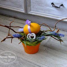 Stroik wielkanocny z lawendą - Wielkanoc - Ozdoby świąteczne