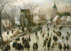 Hendrik Averkamp - Eislauf