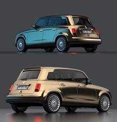 Después del Volkswagen New Beetle, el nuevo Mini Morris y el nuevo Fiat 500 ¿se viene el re-styling del Renault 4? Renault 4 ever - http://2ba.by/1foxf