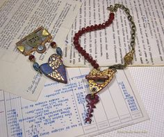 Barbe Saint John - New Treasures from Forgotten Artifacts: Revealing My Bead Soup Blog Party Creations!