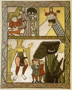 Depiction of the Antichrist from Hildegard von Bingen's Scivias, 1151.