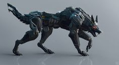 ArtStation - Black Wolf, Andrew Lim