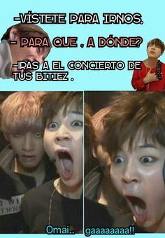 No me lo pueho cree! Memes Bts Español, Bts Meme Faces, Kdrama Memes, Bts And Exo, Bts Lockscreen, Foto Bts, Bts Bangtan Boy, Bts Wallpaper, I Love Bts