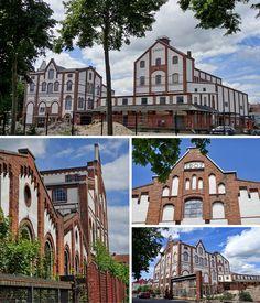 Union-Brauerei Bremen von außen