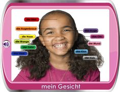 German for Children / Deutsch für Kinder - My Face
