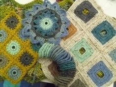 Suz Place: New #Crochet Book: GRANNY SQUARES AND SHAPES