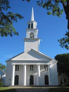 17 century church.  amesbury, MA summer 2011