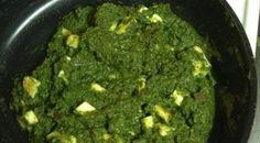 Primal vegetarian Indian food – Chard (Saag) Paneer