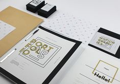 My branding paints me as a mad scientist - I love experimenting and making things with a bang. A custom wordmark and illustration makes for a clean, minimal brand, with plenty of gold! Typography Design, Branding Design, Catering Logo, Creative Industries, Personal Branding, Design Inspiration, Behance, Identity, Menu