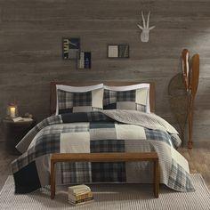 AmazonSmile: Woolrich WR14-1728 Winter Hills Quilt Mini Set Full/Queen Tan,Full/Queen: Home & Kitchen
