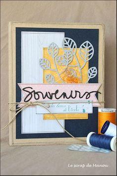 Bonjour tout le monde! Aujourd'hui, je vous présente un kit qui est disponible sur la boutique Swirlcards et sur le stand de la marque des salons de cet automne! Il s'agit d'un petit album en classeur