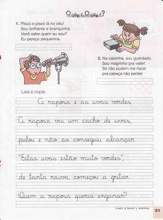 Portuguese Lessons, Professor, My Books, Homeschool, Album, Lettering, Education, Lp, Phonological Awareness Activities