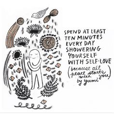 When you love yourself and nourish yourself amazing things start to happen!