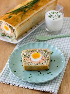 Lachs-Pastete mit Reis