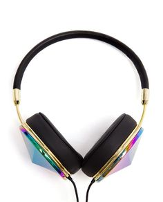 FRENDS | Taylor Large Holographic Metal Headphones