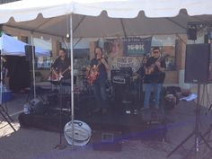 Sons of Zebedee rockin' the block! Matt's Great8 Tailgate at our Staples Mill location!