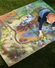 House of Kids Waterproof mats, great for outdoor play. Hours of fun and washable.