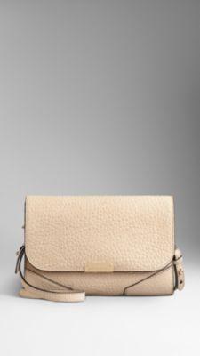 Small Heritage Nubuck Crossbody Bag | #Burberry