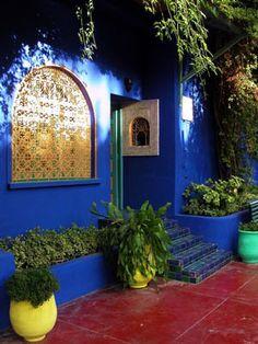 Bleu Majorelle, Marrakech - www.jardinmajorelle.com