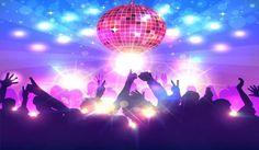 (1) Painel Lona Festa 3,00x1,70mt Discoteca Brilhante - R$ 134,90 em Mercado Livre