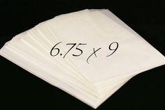 Set of 100 PLAIN 9 x 6 3/4 inch PRINTABLE by kawaiigoodies on Etsy, $9.50