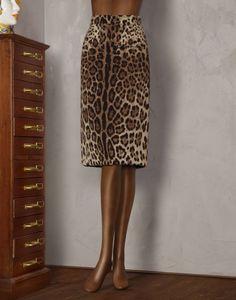 Dolce&Gabbana|F4T32T-FSAJA|Knee length skirts|Skirts