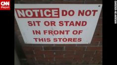 Grammar fail: Notice: Do not sit or stand in front of this stores. This sentence has spelling errors. Grammar win: Notice: Do not sit or stand in front of this sign. Grammar Memes, Spelling And Grammar, Spelling Words, Subject Verb Agreement, Subject And Verb, National Grammar Day, Classroom Humor, Funny Road Signs, Church Signs