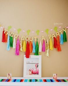 Taco Bout A Party   Flamingo Fiesta theme party!  Etsy Shop: goodnewslane   customer