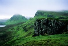 isle of skye scotland pictures | Foggy day at the Quarang on Isle of Skye Scotland