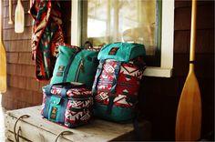 Poler Outdoor Stuff X Pendleton Woolen Mills, both brands from Oregon.