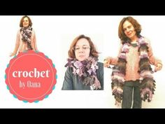 In this tutorial oana shows you how to crochet a lovely lacy scarf, easy yet so fancy subscribe to my channel so you won't miss another video https://www.you...