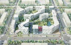 Gallery of 20 Finalists Announced in International Housing Competition for Russia - 1