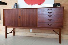 Sideboard with accordian doors.