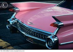 1959 Cadillac Deville Convertible pink fins