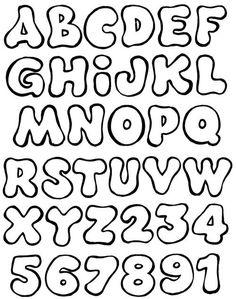 moldes de letras em eva para imprimir e recortar stencils