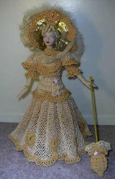 1897 Antique Lace Gown