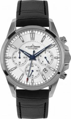 Jacques Lemans Men's 1-1703B Liverpool Titan Sport Analog Chronograph Titan Watch Jacques Lemans. $197.99. Hardened crystex crystal. Case diameter: 42 mm. Sport chronograph titan. Water-resistant to 100 m (330 feet). Quartz movement. Save 45% Off!