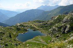 Lago Nero Bergamo, Italy.