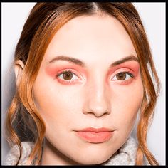 Get a fire hot red eye smoky eye with this simple, DIY makeup tutorial. We'll tell which products you need to get this look now.