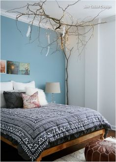 http://www.houzz.com/ideabooks/61137739/list/room-of-the-day-a-teens-bedroom-branches-out  Love this lighting idea!