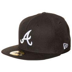 59FIFTY MLB Basic Atlanta Braves Cap    Diese klassische Basecap ist seit Jahren eine der angesagtesten in ihrem Segment und wird nicht nur von Baseball-Fans heftig umworben.     Ein aufgesticktes Teamlogo vorne bringt deine Zugehörigkeit zu den Atlanta Braves zum Ausdruck. Die Cap ist hinten geschlossen und präsentiert sich in verschiedenen Größen, damit auch für jede Kopfform etwas dabei ist....