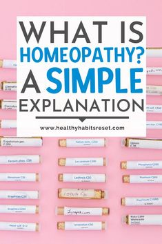 Many people believe homeopathy is the use of herbs or other home remedies, but homeopathy is it's own system of medicine - here's a simple explanation. #homeopathy101 #homeopathyforbeginners #whatishomeopathy Chronic Illness Humor, Chronic Pain, Natural Headache Remedies, Natural Remedies For Anxiety, Chronic Fatigue Treatment, Herbs For Health, Pain Management, Holistic Healing, Homeopathy
