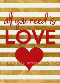 Free Valentines Day Printables