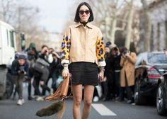 PFW Fall 2014 Street Style: